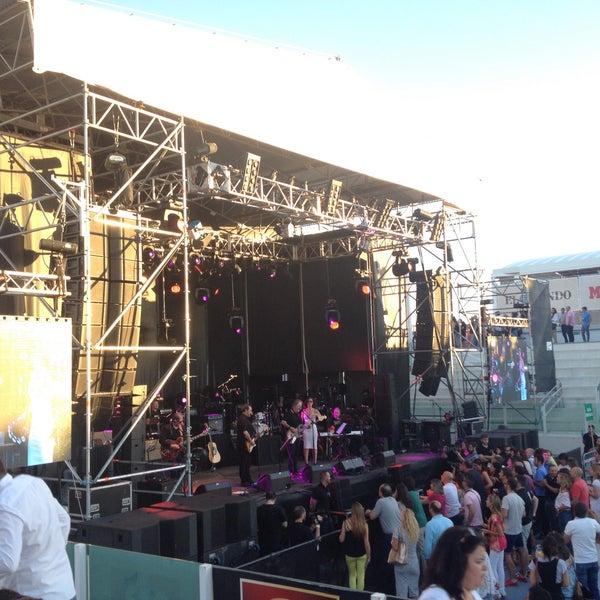 Photo taken at Ciudad de la Raqueta by Ana A. on 7/14/2016