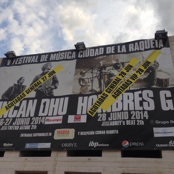 Photo taken at Ciudad de la Raqueta by Miriam Elena S. on 6/28/2014