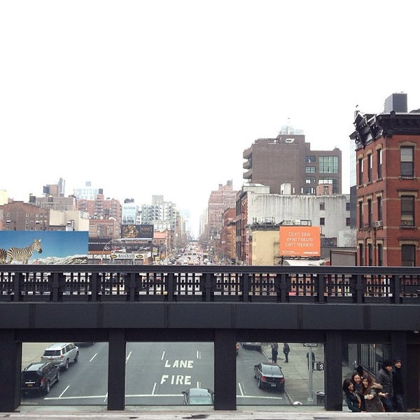 Photo taken at High Line 10th Ave Amphitheatre by Global H. on 12/17/2012