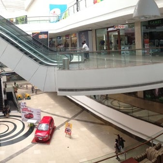 Photo taken at Kumar Pacific Mall by Rahul M. on 3/16/2013