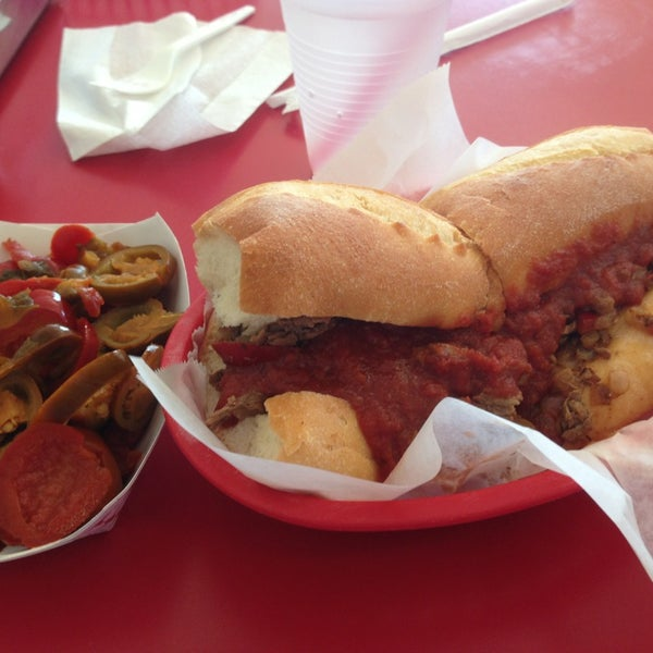 Photo taken at Amato's Cheesesteaks by Tony L. on 7/28/2013
