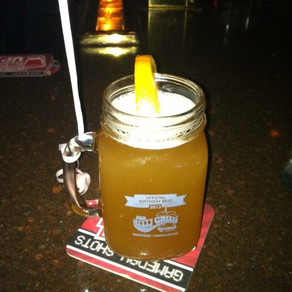Photo taken at Nitty Gritty Restaurant & Bar by Chelsie Z. on 2/17/2013