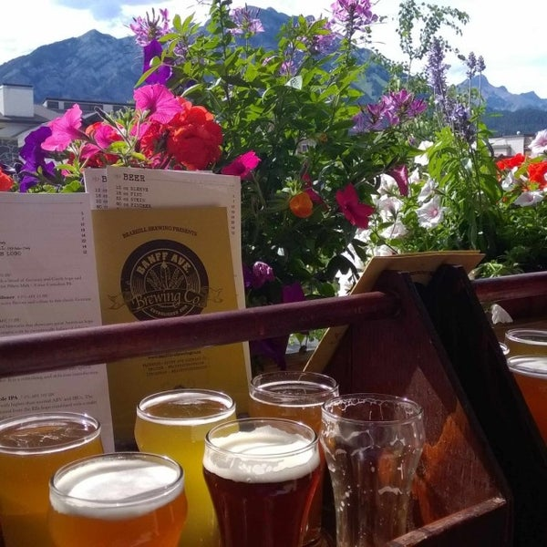 Photo taken at Banff Avenue Brewing Co. by Vytas B. on 7/15/2015