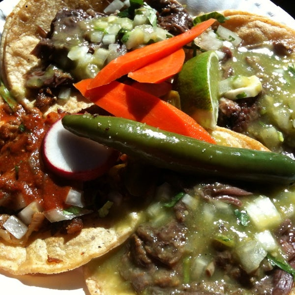 Photo taken at Angelica's Taqueria Taco Truck by Raul M. on 10/15/2013