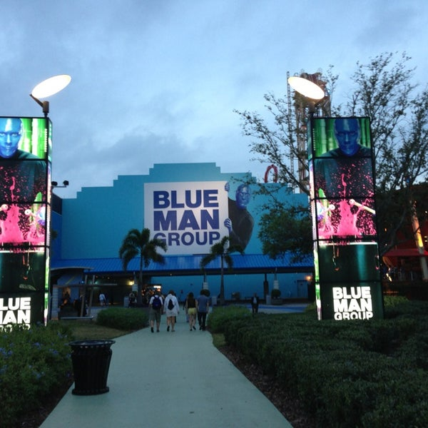 Photo taken at Blue Man Group at Universal CityWalk by Christian K. on 2/25/2013