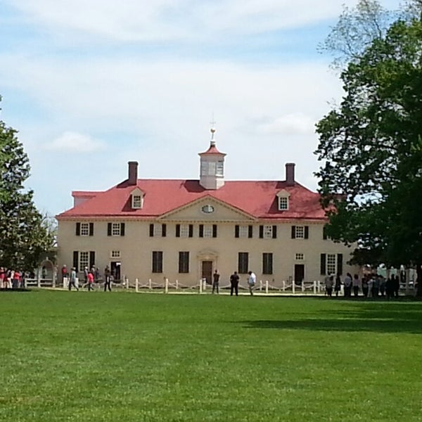 Photo taken at George Washington's Mount Vernon by Colby D. on 5/4/2013