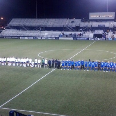 Photo taken at Jeffrey Field by Mark P. on 11/23/2012