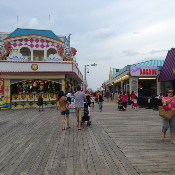 1960 s view Pictures of point pleasant boardwalk