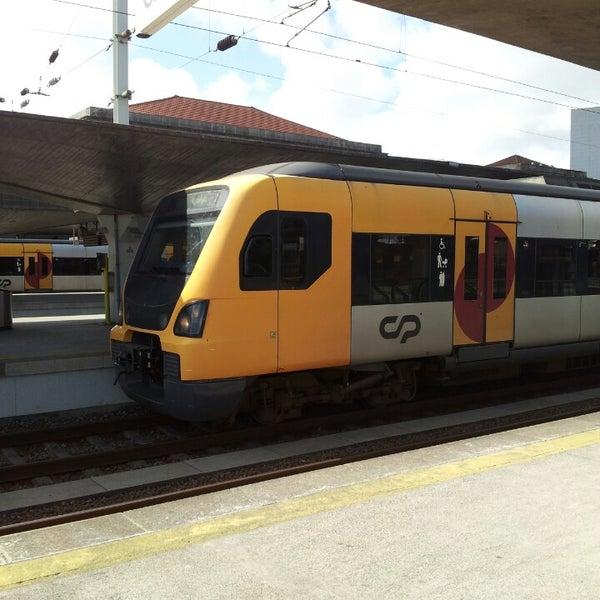Photo taken at Estação Ferroviária de Porto-Campanhã by António Manuel T. on 4/22/2014