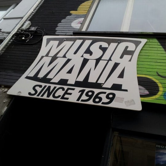 Photo taken at Music Mania by Robin P. on 1/2/2013