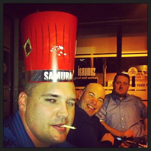 Photo taken at Samurai Japanese Steakhouse by Kathleen K. on 11/10/2013