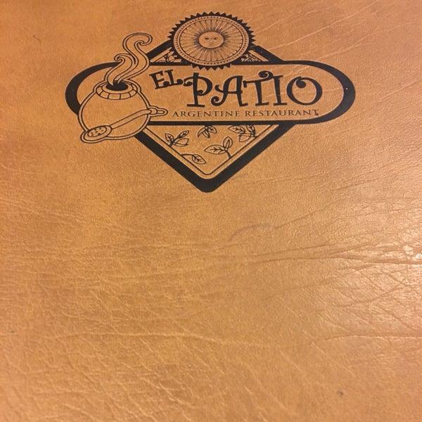 Photo Taken At El Patio Argentine Café By April A. On 8/5/