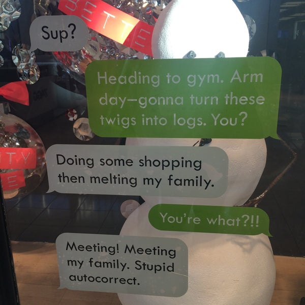 Photo taken at Walt Whitman Shops by Lisa G. on 12/14/2014
