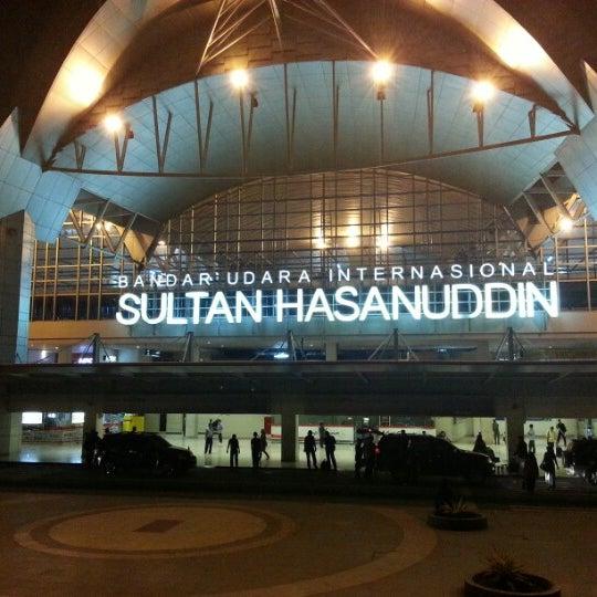 Photo taken at Sultan Hasanuddin International Airport (UPG) by Yodi H. on 7/22/2013