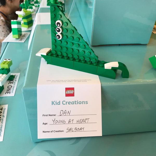 Photo taken at The LEGO Store by Dan M. on 7/11/2017