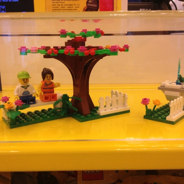 Photo taken at The LEGO Store by Dan M. on 3/21/2013