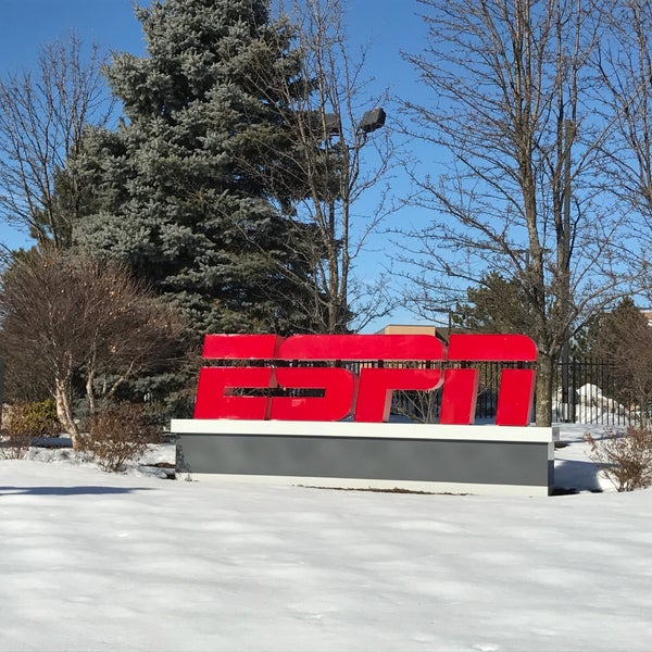 Photo taken at ESPN by Darren W. on 2/17/2017