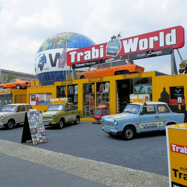 Great fun to have a 1 or 2 hour Trabi safari. The guides are friendly and helpful, you may even get to refuel your car! I recommend the longer Berlin Wall tracing route. Don't wear too posh clothes!