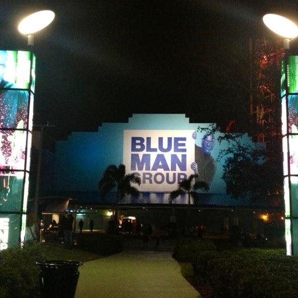 Photo taken at Blue Man Group at Universal CityWalk by Carol N. on 1/6/2013