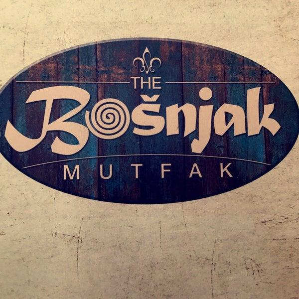 5/26/2017 tarihinde Mohammad A.ziyaretçi tarafından The Bošnjak Mutfak'de çekilen fotoğraf