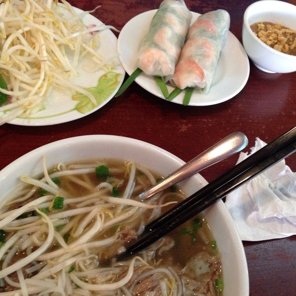 Photo taken at Pho Bac by Falencia F. on 2/11/2014