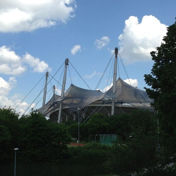 Photo taken at Olympic Stadium by Chris D. on 6/6/2013