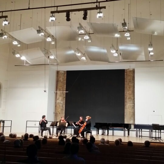Photo taken at UdK Konzertsaal Bundesallee by Ronnie R. on 9/19/2014