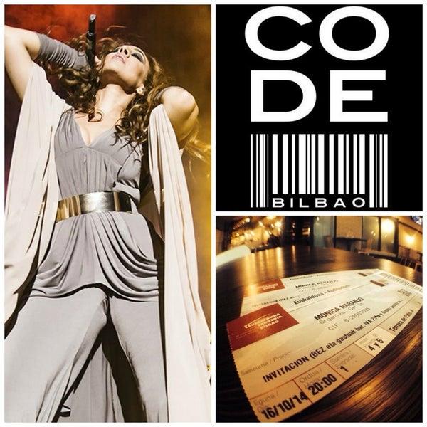 Sorteamos DOS ENTRADAS para el show de Mónica Naranjo, este jueves 16 de octubre a las 20.00, en el Palacio Euskalduna.  Los detalles, en www.facebook.com/ CODEBilbao.