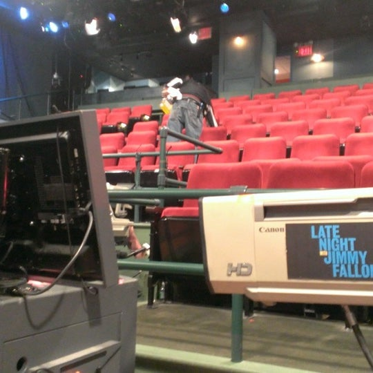 Photo taken at Late Night with Jimmy Fallon by Angie N. on 11/20/2013