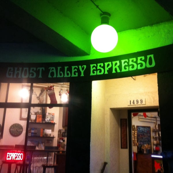Photo taken at Ghost Alley Espresso by steve m. on 11/24/2013
