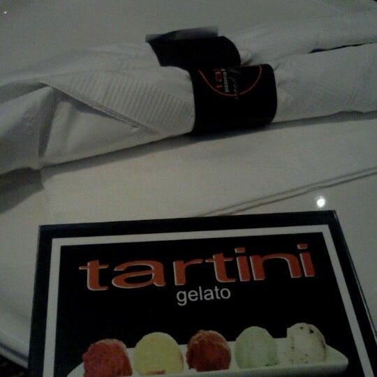 Photo taken at Tartini Pizzeria & Spaghetteria by Bill N. on 1/1/2013