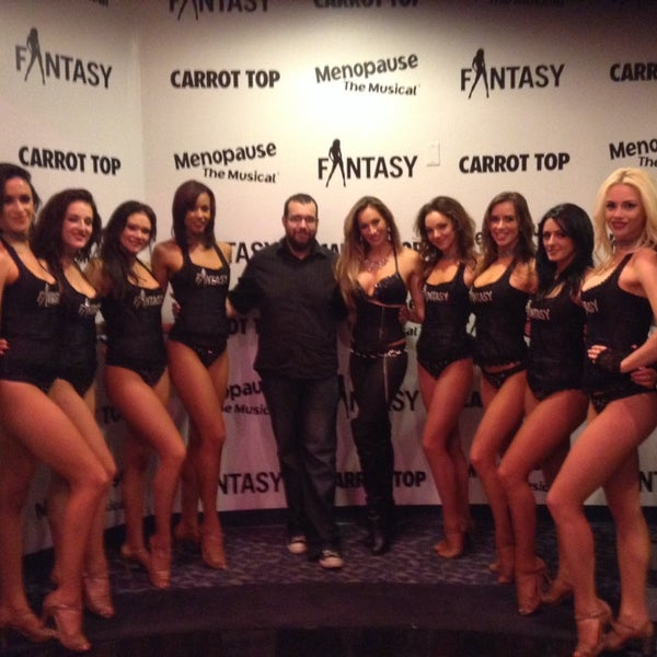 Photos at fantasy at the luxor general entertainment in the strip great show funny talented and beautiful the girls were kind enough to m4hsunfo
