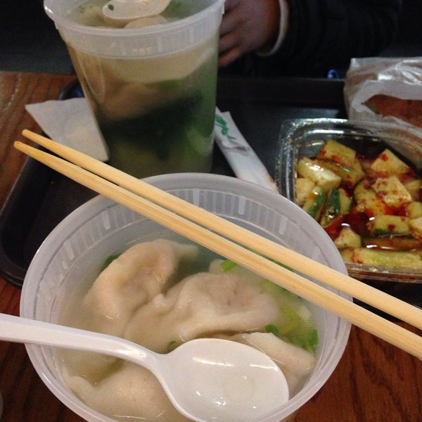 Photo taken at Vanessa's Dumpling House by Amy L. on 1/31/2015