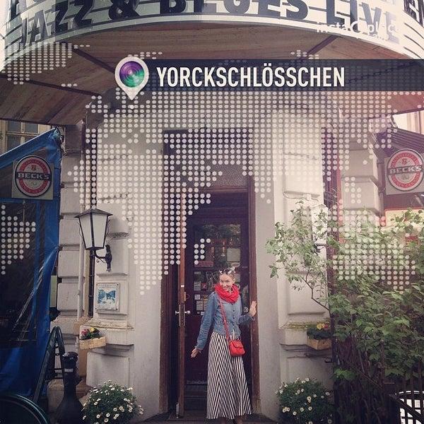 Photo taken at Yorckschlösschen by Anna T. on 5/18/2014