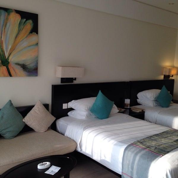 Photo taken at HowardJohnson Resort Sanya Bay by mogmog s. on 10/4/2014