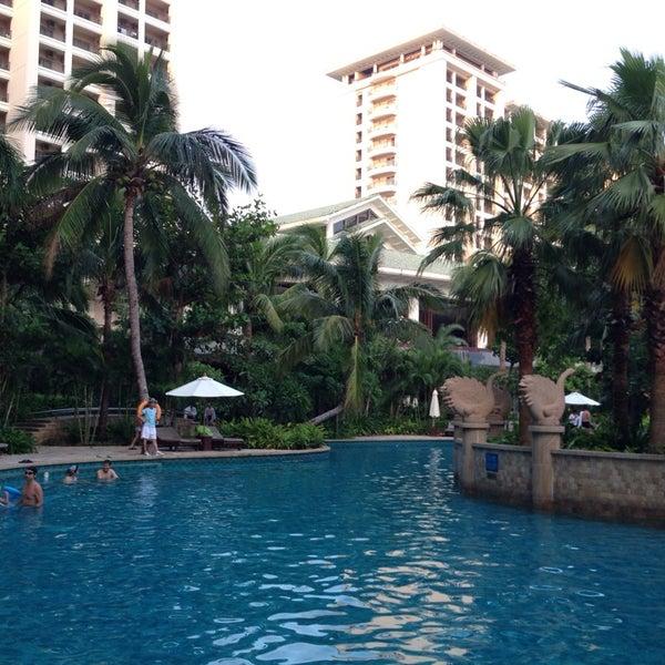 Photo taken at HowardJohnson Resort Sanya Bay by mogmog s. on 10/3/2014