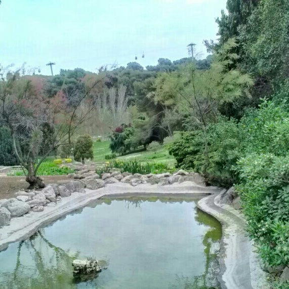 Jardins de joan brossa park in parc de montju c for Jardines de joan brossa