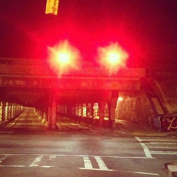 Photo taken at Krog Street Tunnel by Carlton M. on 2/19/2013