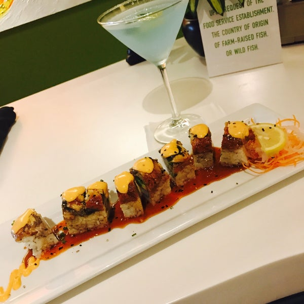 Photo taken at Yumm Thai : Sushi and Beyond by Mo on 5/17/2017