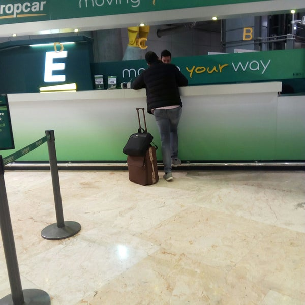 europcar - rental car location in barajas