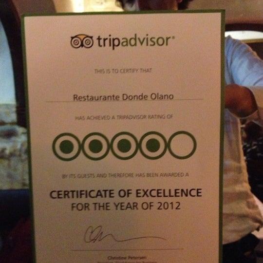Foto tomada en Donde Olano Restaurante por Emiliano M. el 9/28/2012
