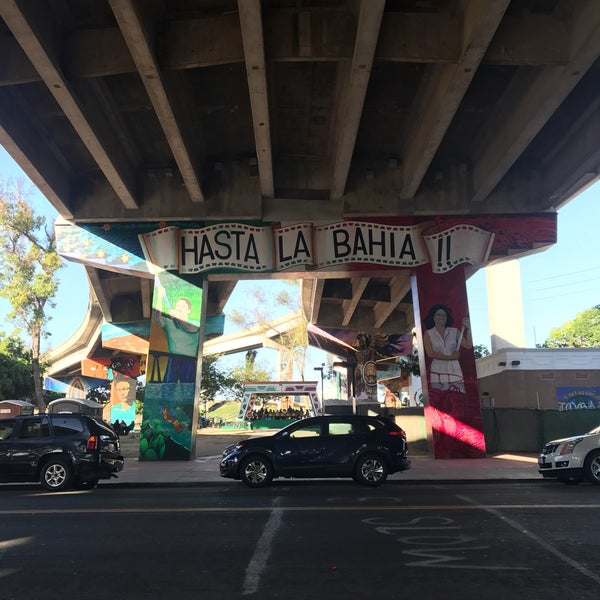 Photo taken at Chicano Park by Didi F. on 9/25/2017