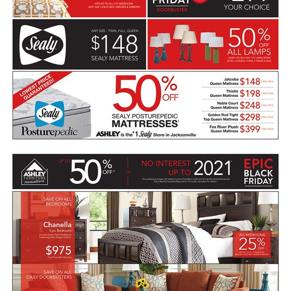 EPIC BLACK FRIDAY At Ashley Furniture HomeStore Is Going On NOW! Visit  Www.DidYaKnow