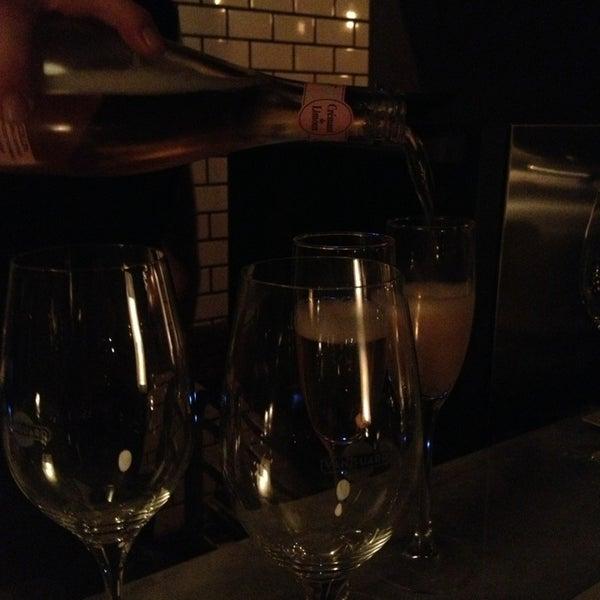 Photo taken at Vanguard Wine Bar by Matthew C. on 1/5/2013
