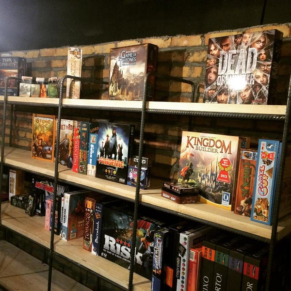 Full of awesome board games