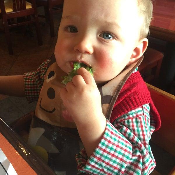 Photo taken at Elizabeth's Pizza by Lauren V. on 12/6/2015