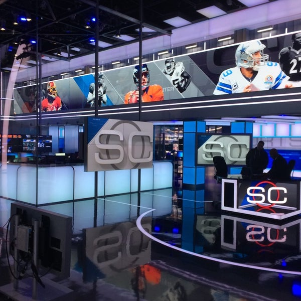 Photo taken at ESPN by Alex K. on 7/24/2014