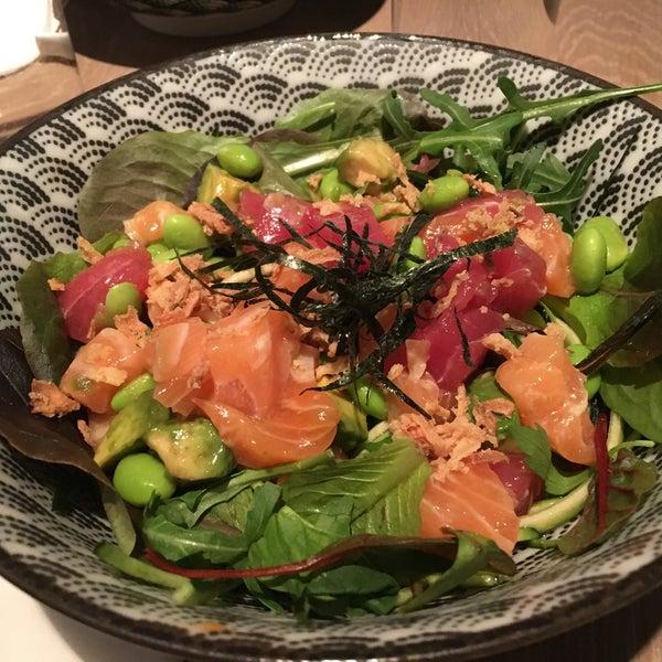 Amazing Japanese food & matcha place. Great sashimi type Kaisen poke, nice sushi and good miso soup. Best matcha ice cream! 😜