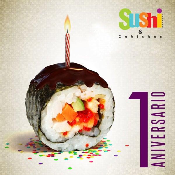 Foto tomada en Sushi & Cebiches por Sushi & Cebiches el 10/26/2014