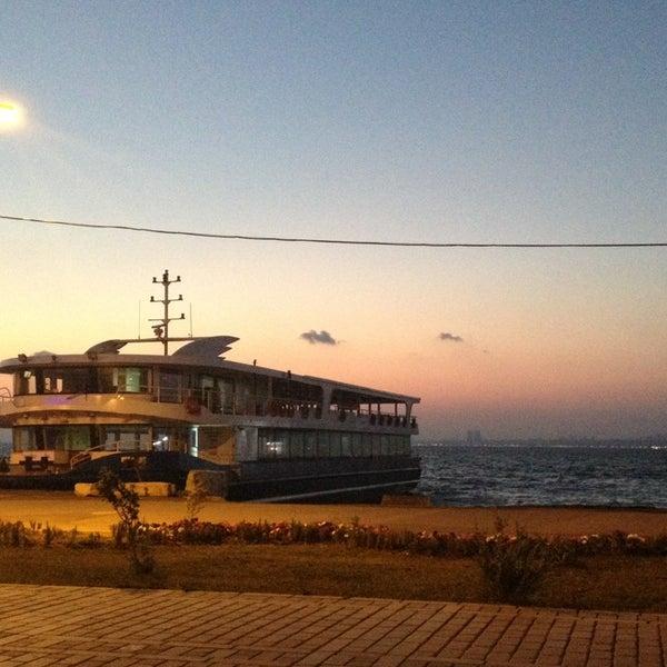Photo taken at Büyükada Mavi Marmara Motor İskelesi by Yusuf B. on 8/7/2013